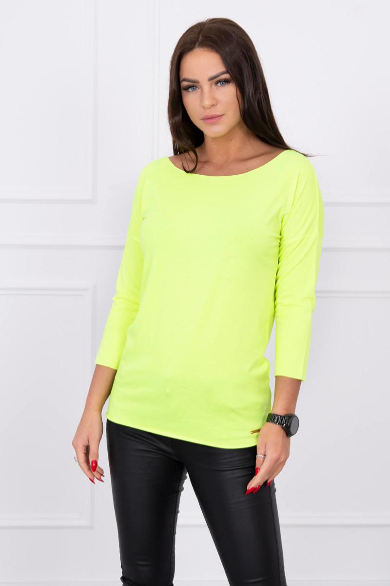 346f091858e3 Dámske tričko Casual - neonová žltá