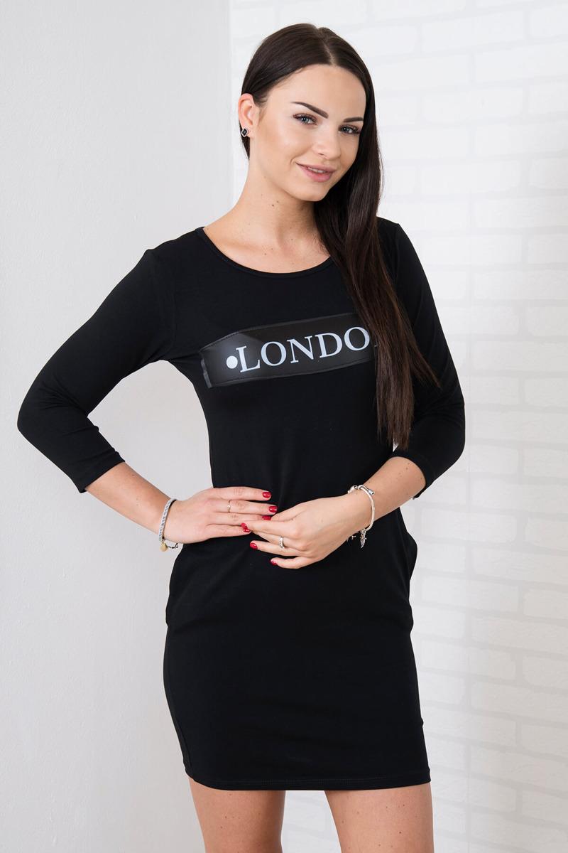 c78647c86ce1 Športové šaty London - čierna
