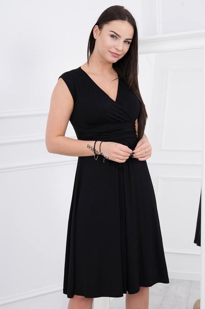 1e67be54f8cd Letné šaty po kolená - čierna