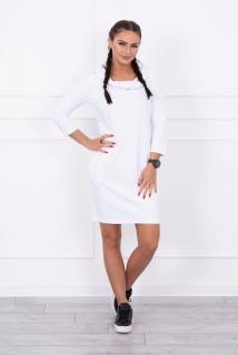 fc9dd3042 Športové šaty s kapucňou - biela empty